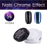 Nails Chrome Effect 14 HYDRA