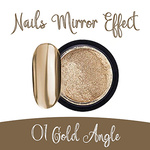 Nails Mirror Effect 01 Gold Angle 3g