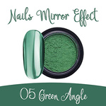 Nails Mirror Effect 05 Green Angle 3g