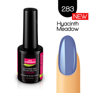 Lakier Hybrydowy UV LED COLOR a.t.a Professional™ nr 283 15 ml - Creamy Pastel - Hyacinth Meadow