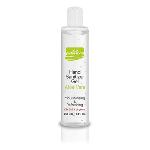 Antybakteryjny Żel do Rąk 250 ml Hand Sanitizer Gel Aloe Vera  a.t.a Professional™