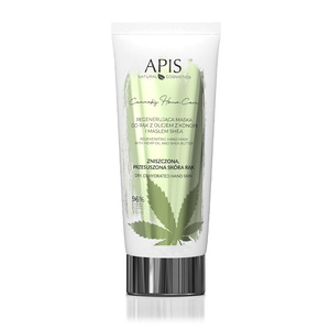 APIS Maska do Rąk Regenerująca - Cannabis Home Care - 200 ml