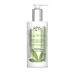 APIS Krem do Rąk Regenerujący - Cannabis Home Care - 300 ml