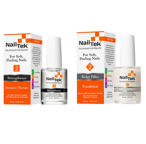 Nail Tek DUO Zestaw  Intensive Therapy II + Foundation II 2 x 15 ml