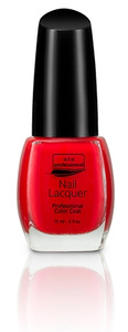 Nail Lacquer a.t.a Professional Color Coat 15ML - Red Manicure Serie NR 7122