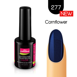 Lakier Hybrydowy UV LED COLOR a.t.a Professional™ nr 277 15 ml - Cornflower