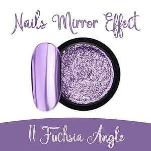 Nails Mirror Effect 11 Fuchsia  Angle 3g