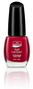 Nail Lacquer a.t.a Professional Color Coat 15ML - Red Manicure Serie NR 7125