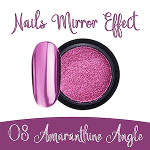 Nails Mirror Effect 08 Amaranthine Angle 3g