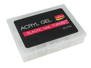 Formy do Acryl Gel Elastic Nail Forms DSF a.t.a Professional 120 szt.