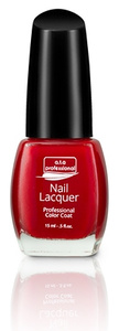 Nail Lacquer a.t.a Professional Color Coat 15ML - Red Manicure Serie NR 7124