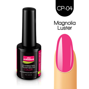 Lakier Hybrydowy UV&LED COLOR a.t.a professional nr CP-04 15 ml - CANDY PASTEL - MAGNOLIA LUSTER