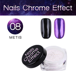 Nails Chrome Effect 08 METIS