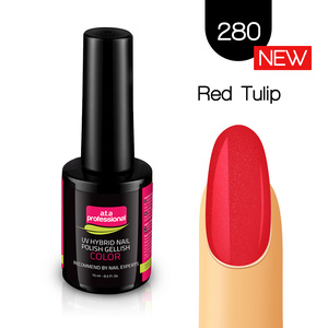 Lakier Hybrydowy UV LED COLOR a.t.a Professional™ nr 280 15 ml - Red Tulip
