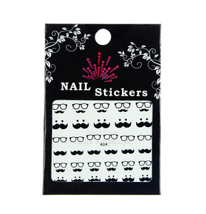 Nail Stickers Whiskers no. 404
