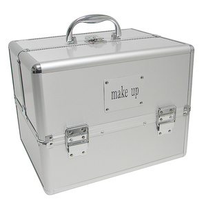 Cosmetic Case Make Up Silver
