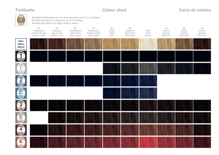 19 Best Of Refectocil Color Chart